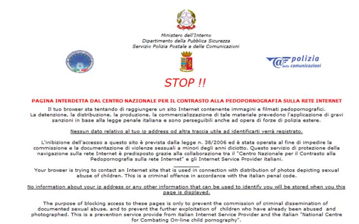 Online copyright enforcement: The ineffectivity of Italian
