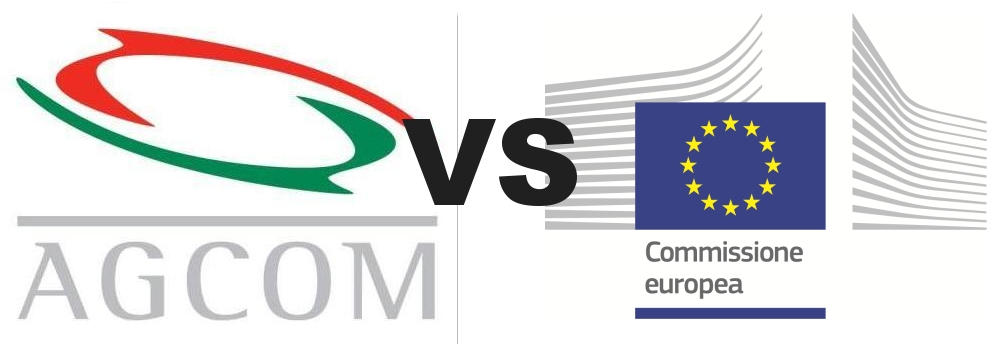 agcom vs commissione ue